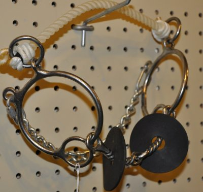 O-Ring Noseband with Twist Snaffle