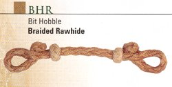 Braided Rawhide Hobble