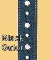 Black Gator Wither Strap