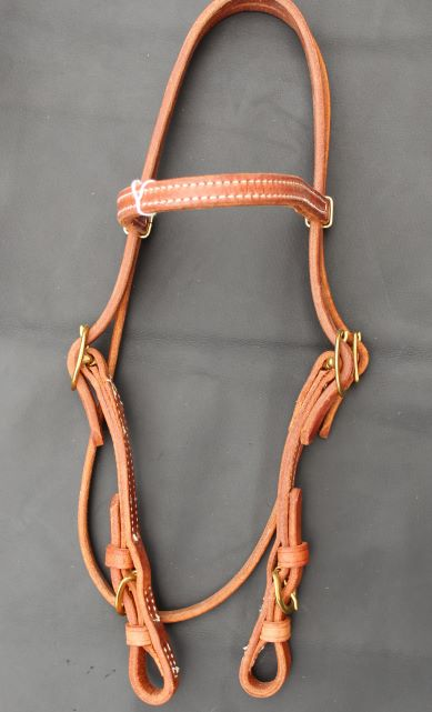 Browband with Buckle Cheek