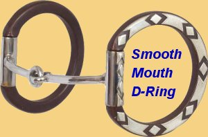 Sherry Cervi D Ring Smooth Snaffle