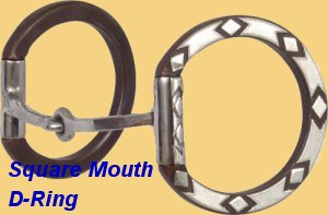 Sherry Cervi Square Snaffle D Ring