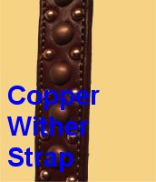 Copper Wither Strap