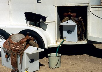 Saddle Rack Water Tank