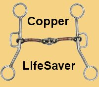 Copper Lifesaver Gag