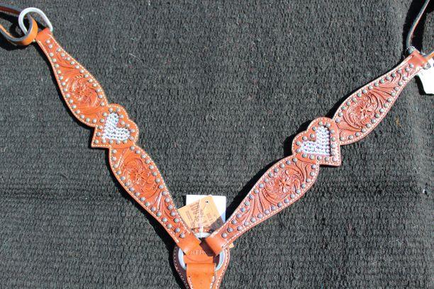 Crystal Heart Breastcollar