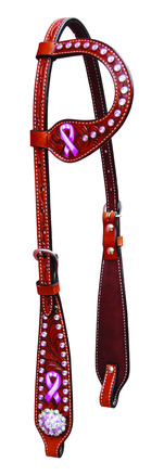 Breast Cancer Awareness One Ear Headstall