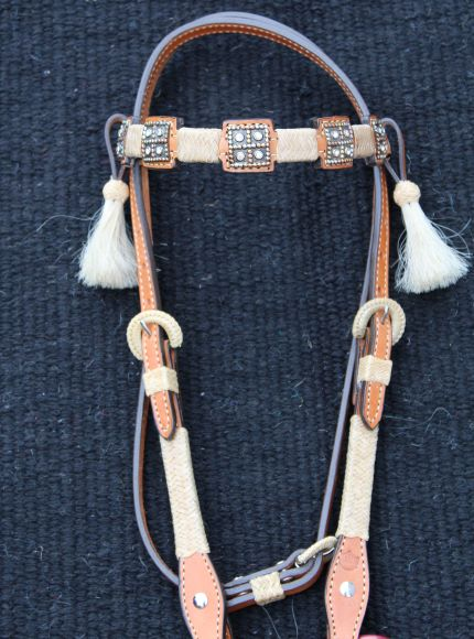 Bronze Square Headstall