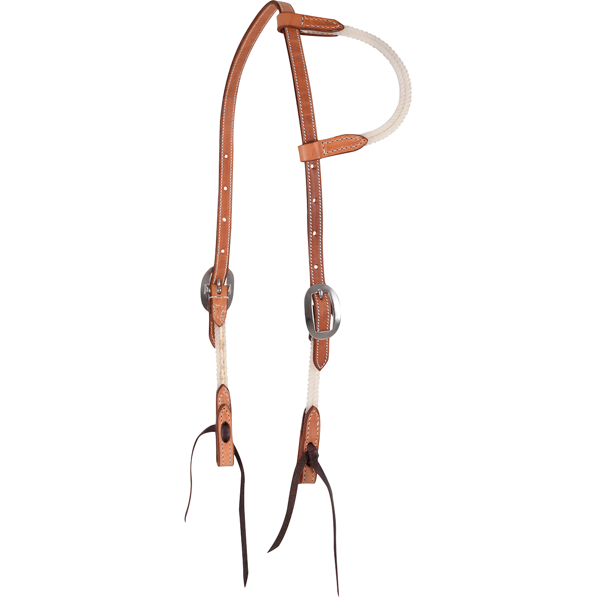 One Ear Rope Headstall