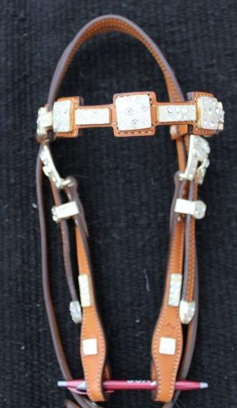 Square Ice Headstall