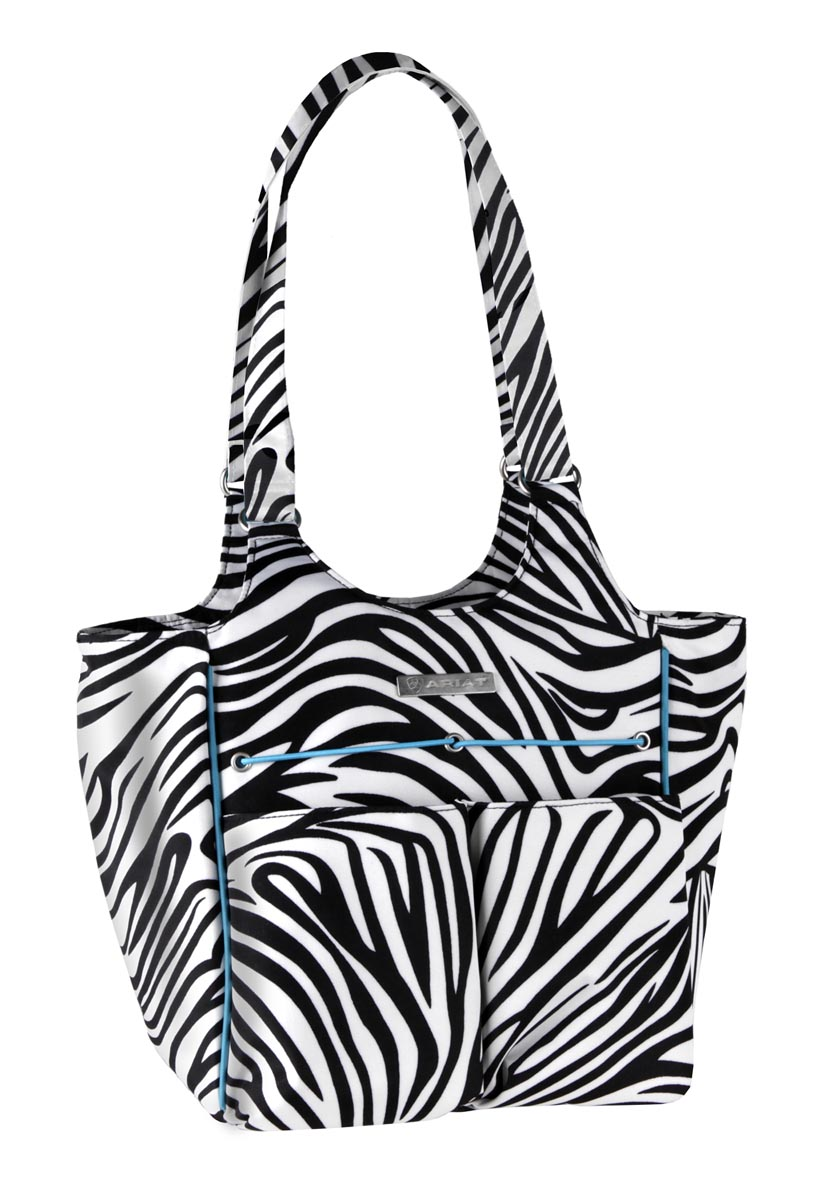 Ariat Zebra Tote Bag