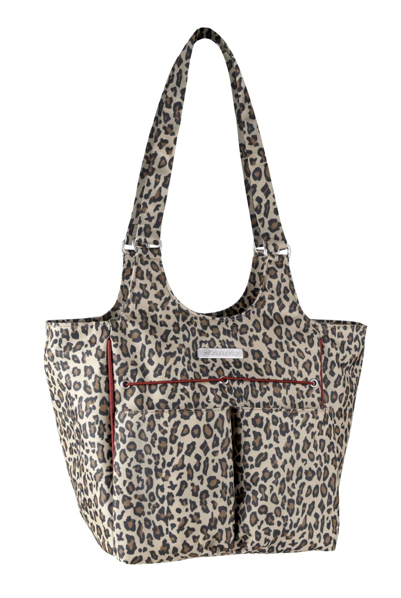 Ariat Cheetah Tote Bag