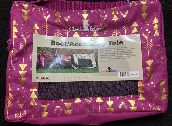 Classic Equine Boot Bag
