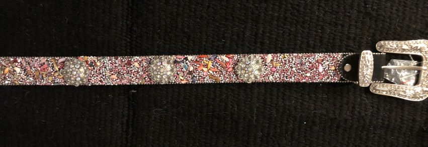 Pink Crystal Belt