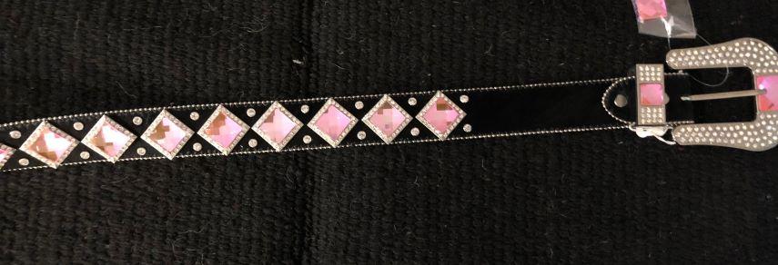Pink Stone Belt