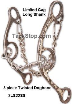 3 Piece Twist Long Shank Limited Gag