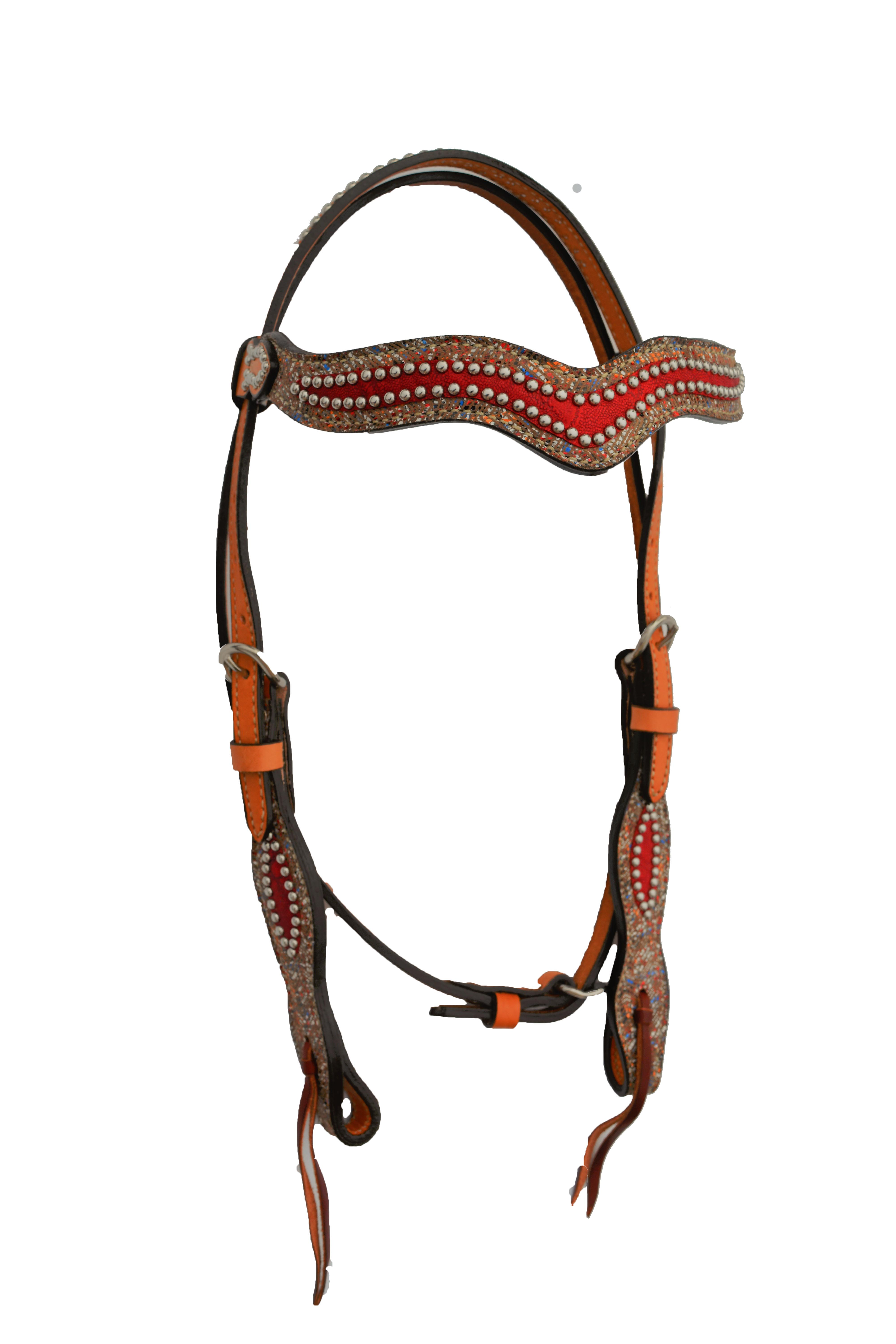 Red Elephant Headstall
