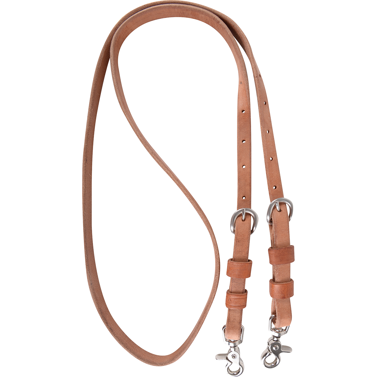 Double Buckle Harness Roping Reins