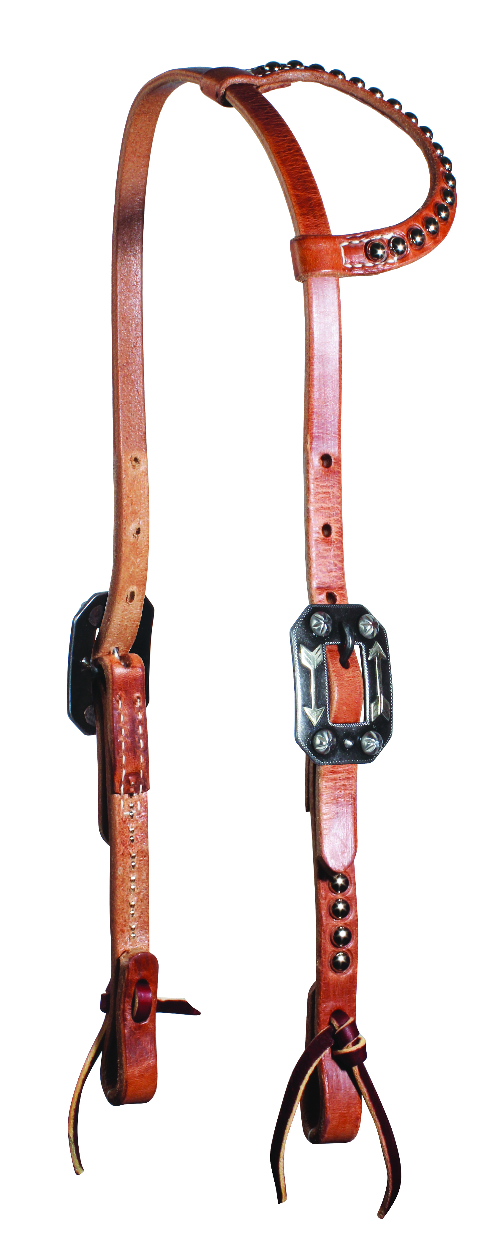Professionals Choice Flat Ear Headstall