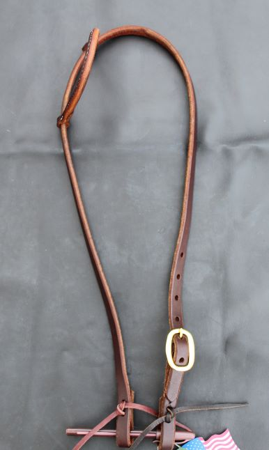 Day Worker Rolled Ear Headstall