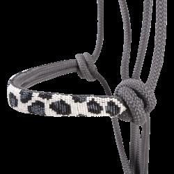 Cheetah Beaded Rope Nose Halter