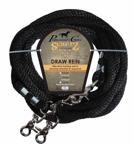 Poly Rope Draw Reins – Single 16′