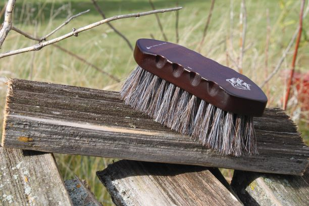 Wooden Small Horse Hair Brush