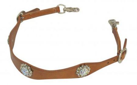 Showman Wither Strap with Conchos