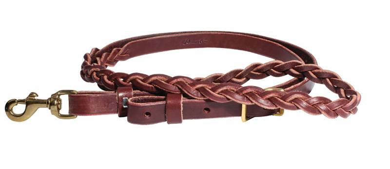 3-Plait Latigo Roping Rein