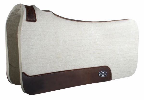 Steam Pressed Comfort-Fit Felt Saddle Pad – 3/4″ Thickness
