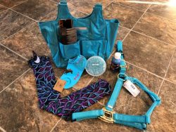 Turquoise Easter Basket
