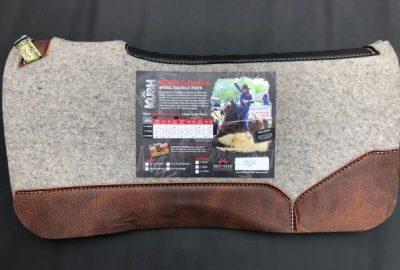 3/4″ Kush with Oak Nut Leather