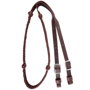 7/8″ 5 Plait Barrel Reins