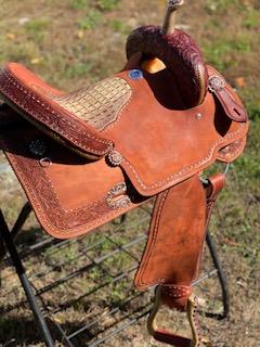 Alamo Saddlery AB Saddle – 15″