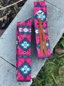 WhinneyWear Red Aztec Cinch Set
