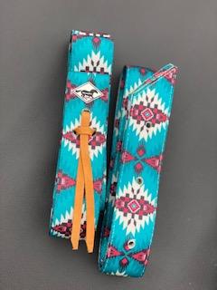 Turquoise Aztec Cinch Set
