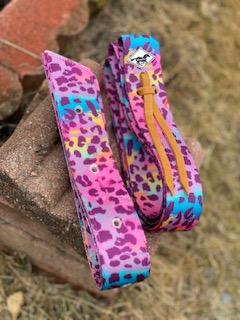 WhinneyWear 80's Cheetah Cinch Set