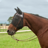 Leopard Quiet Ride Fly Mask