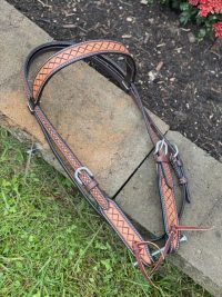 Crosshatch Browband Headstall